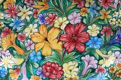 Colorful sicilian pottery Stock Images