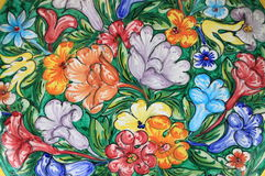 Colorful sicilian pottery Royalty Free Stock Photography