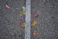 Colorful Sidewalk Royalty Free Stock Images