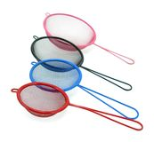 Colorful sieves Royalty Free Stock Photo