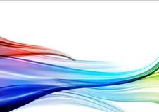Colorful silk vector illustration