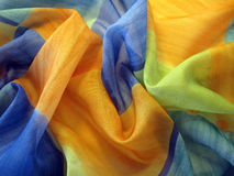 Colorful silk Stock Image