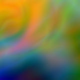 Colorful silky abstract 1 Stock Image