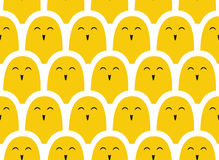 Colorful  simple pattern . Crowd Royalty Free Stock Image
