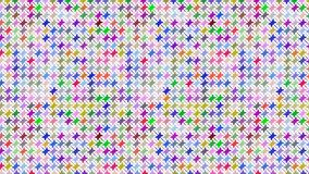 Colorful simple pattern. Vector repeating pattern of simple colorful geometric shapes. creative design, cheerful, festive, for textile, fabric, decoration and Royalty Free Stock Images