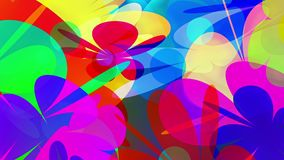 PowerFlowers // 1080p Colorful Abstract Blossoms Video Background Loop