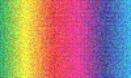 Colorful simplistic round mosaic and minimalist Royalty Free Stock Images