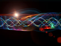 Colorful Sine Wave Pattern Stock Images