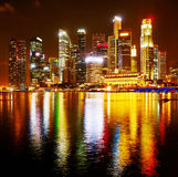 Colorful Singapore Stock Image