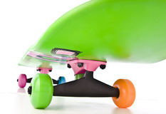 Colorful skateboard Stock Photos