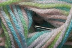 Colorful skein Royalty Free Stock Image