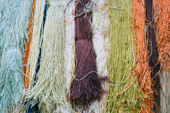 Colorful skeins Royalty Free Stock Images
