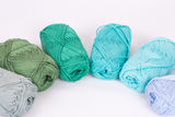 Colorful skeins of Yarn Royalty Free Stock Image