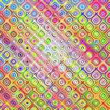 Colorful sketch blocks pattern Royalty Free Stock Photography