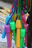 Colorful skipping rope Royalty Free Stock Photos