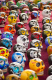 Colorful Skulls Stock Photography