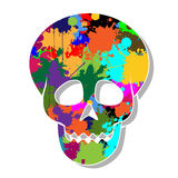 Colorful skulls Royalty Free Stock Photo