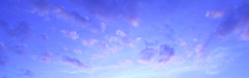 Colorful sky Stock Image