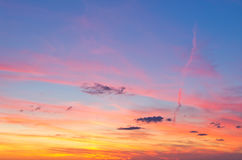 Colorful sky Royalty Free Stock Photo