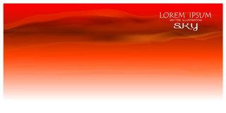 Colorful sky background. Sky Nature Landscape Background, vector illustration. Colorful sky background. Vector illustration beautiful sky landscape background Stock Images