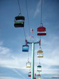 Colorful Sky Buckets Royalty Free Stock Photo