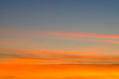 Colorful sky and clouds background Royalty Free Stock Image