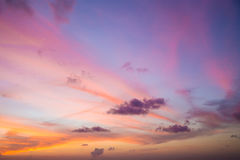 Colorful of sky Stock Photo