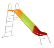Colorful slide Stock Photo