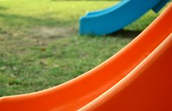 Colorful slide. Close-up of colorful slide Stock Photos