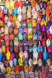 Colorful slippers Royalty Free Stock Photography