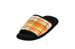 Colorful slippers. Isolate on white background Stock Images