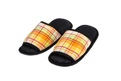 Colorful slippers. Isolate on white background Royalty Free Stock Image