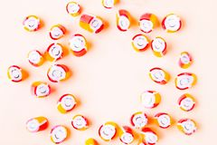 Colorful small candy stock photos