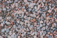 Colorful small stones gravel texture and background Royalty Free Stock Photos