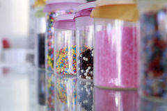 Colorful small sweets Stock Photography