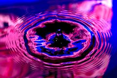 Colorful Small Water Drop Royalty Free Stock Photos