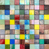 Colorful smalt for mosaic work as seamless background Royalty Free Stock Image