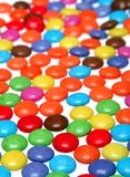 Colorful smarties Stock Photos