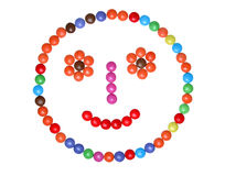 Colorful smarties Stock Photo