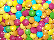 Colorful smarties Stock Photography