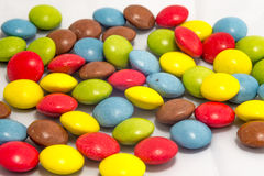 Colorful smarties royalty free stock photo