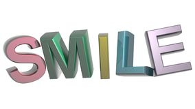 Colorful Smile Stock Photos