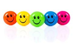Colorful smileys