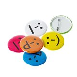 Colorful smileys, Smiley faces Royalty Free Stock Photos