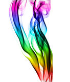 Colorful smoke Stock Images