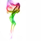 Colorful smoke Stock Photography