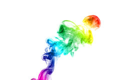 Colorful smoke Royalty Free Stock Images