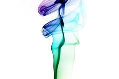 Colorful smoke royalty free stock photos