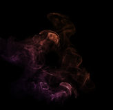 Colorful smoke. Stock Images