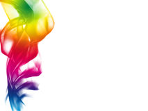 Colorful smoke background Royalty Free Stock Images